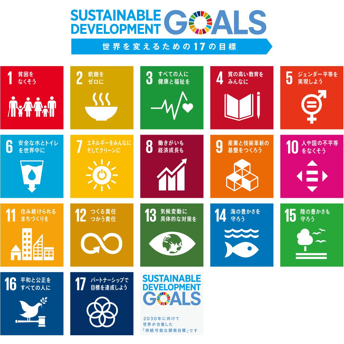 持続 可能 な 開発 目標 SDGs(持続可能な開発目標)とは何か?17の目標をわかりやすく解説|...