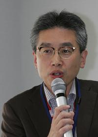 藤木シェフとJR東日本をつないだ久保田さん。