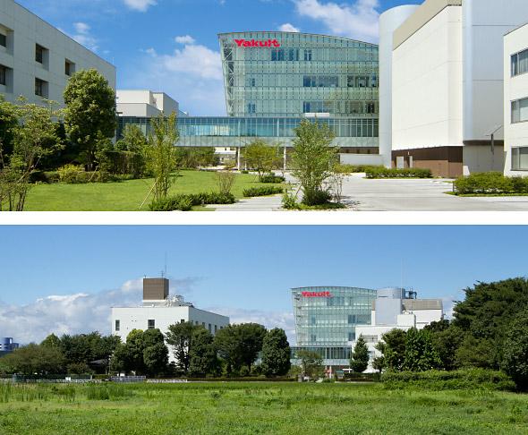 中央研究所と周囲の環境