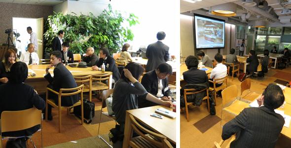 オランダの優れた栽培戦略、農業戦術を日本へ取り込み活かそうと、真剣に聞き入る受講者たち